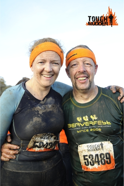 Tough mudder finish photo!