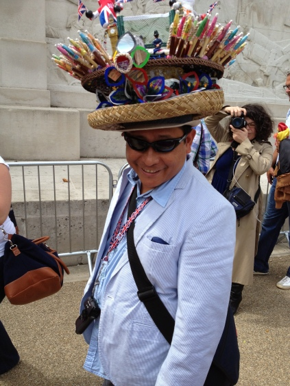Olympic supporter, August 2012
