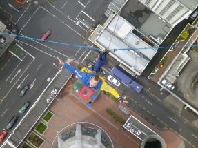 Sky tower jump, Auckland
