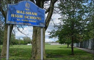 My Secondary school: flattened a few years ago