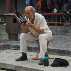Chinese busker