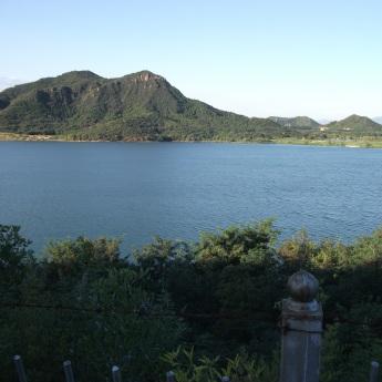 beautiful lake we swam in
