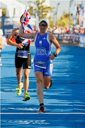 my first GB finish line. Aus, 2009