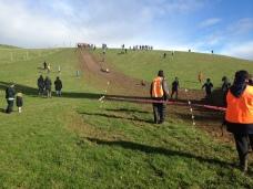 The mud slide