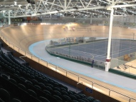 1st time in velodrome