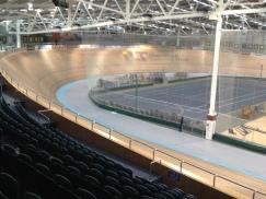 1st time in velodrome