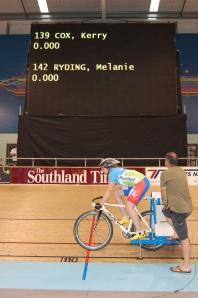 Melanie 500m TT