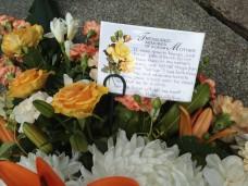 Mum's funeral