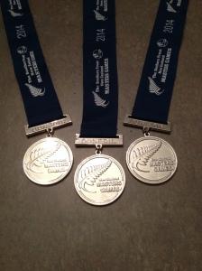 3 x silver medallist!