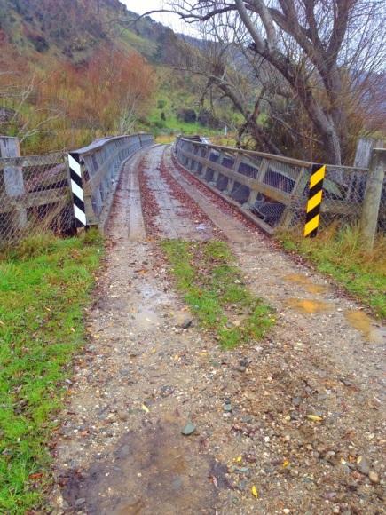 Always find wooden bridges odd