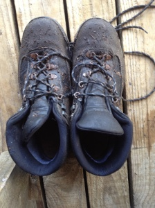 These boots are made for walking..