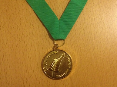 Surprise Rowing singles Gold medal