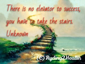 Quote stairs to success
