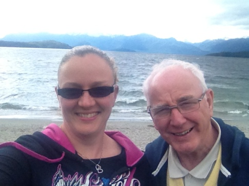 Dad visits NZ!