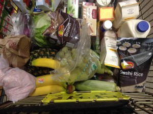 Healthy shopping!