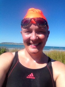 Mel swim Colac bay